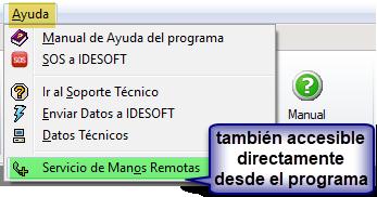 Descargar asistencia remota IDESOFT
